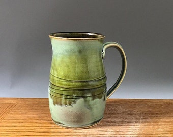Big ol' Handmade Mug , 29 oz, Tankard Style, Pottery Mug , Stein,  Coffee Mug , Beer Mug , Tea Mug , Ceramic Mug