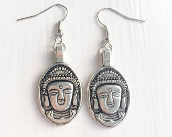 Traditional Buddha earrings