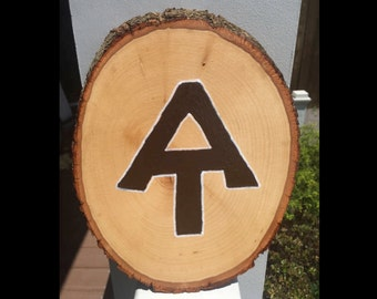Appalachian Trail Signs, Gift for Hikers, Outdoor, Hiking, Appalachian Trail, Appalachian Trail 'Marker, Live Edge'