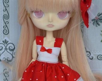 Outfit Pico red dot [Dal obitsu 21cm =]