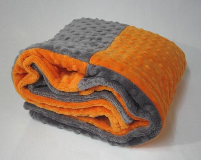 Minky Blanket Baby Stroller Car Seat