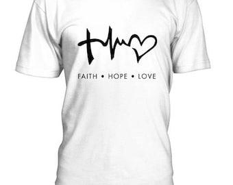 Faith Hope  Love    Tshirt