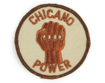 Chicano Power Vintage Patch