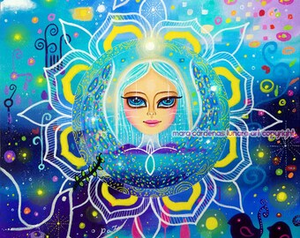 Peace Angel Mandala Medicine