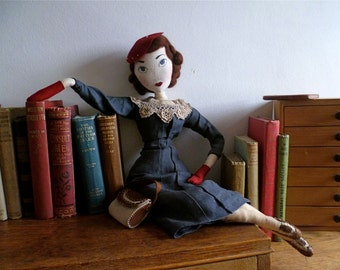 Vintage Cloth Dolls - Made To Order -