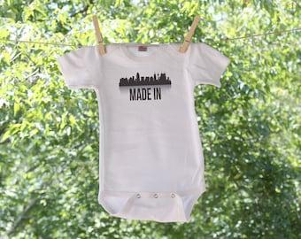 Made In San Antonio Texas Infant Bodysuit