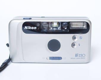 Vintage Nikon AF 230 compact film camera Nikon Lens 29mm