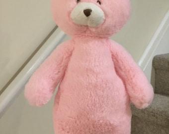 Vintage Baby Ganz baby pink teddy bear rattles