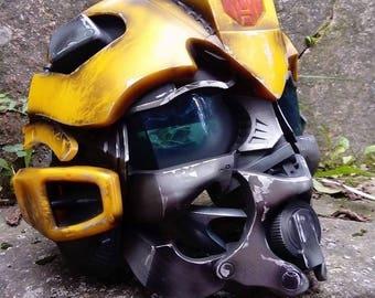 TRANSFORMERS - Bumblebee voice changer helmet custom