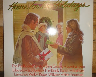 Home For the Holliday's Christmas Album LP