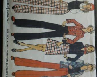 Vintage Simplicity Pattern 6577.  A Stretch Knits ONLY pattern!
