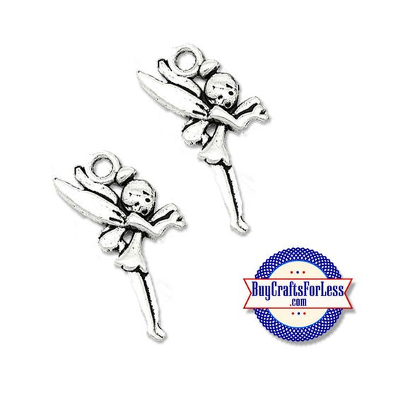 FAIRY GiRL Charms, 6, 12, 24  pcs  +FREE SHiPPiNG & Discounts*