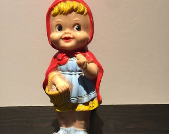 Vintage Stahlwood Spunky Red Riding Hood Doll