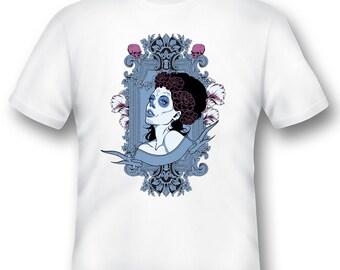 Zombie girl Tee Shirt 08162017