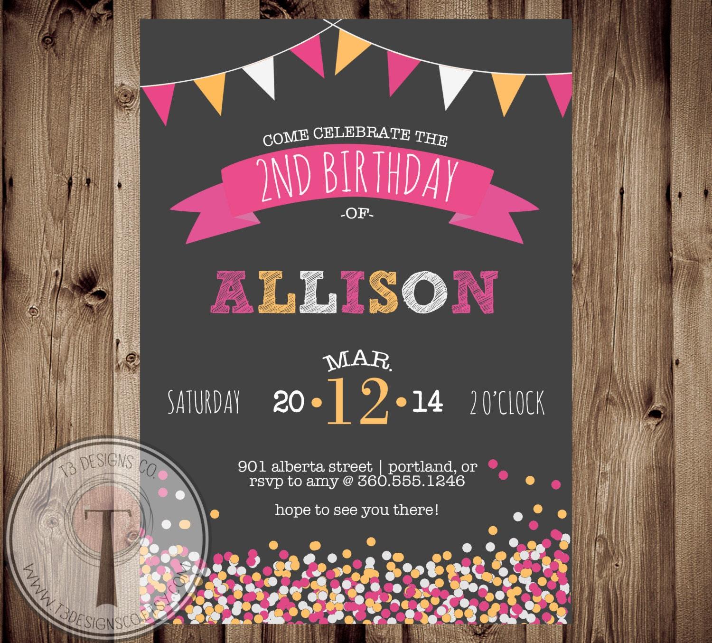 tween birthday party invitations