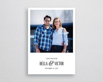 Save The Date Card (Wedding) A6