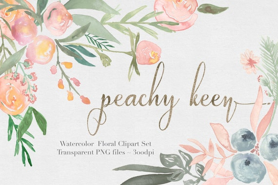 Watercolor Flowers Clipart Files High Res Transparent PNG