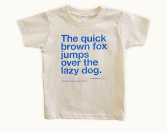 Kids T-Shirt - Helvetica Neue Bold