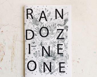 Rando Zine One an Illustrated Collaborative Art Zine