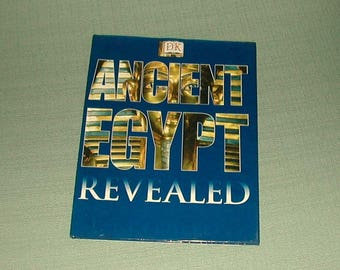 Vintage Book--Ancient Egypt Revealed--Egyptian Book--Book on Ancient Egypt