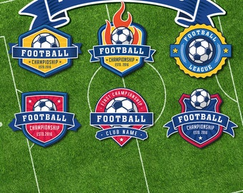 Soccer Football Logo Templates