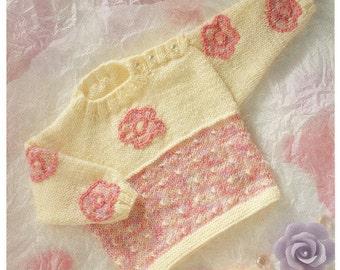 sweater dk knitting pattern 99p