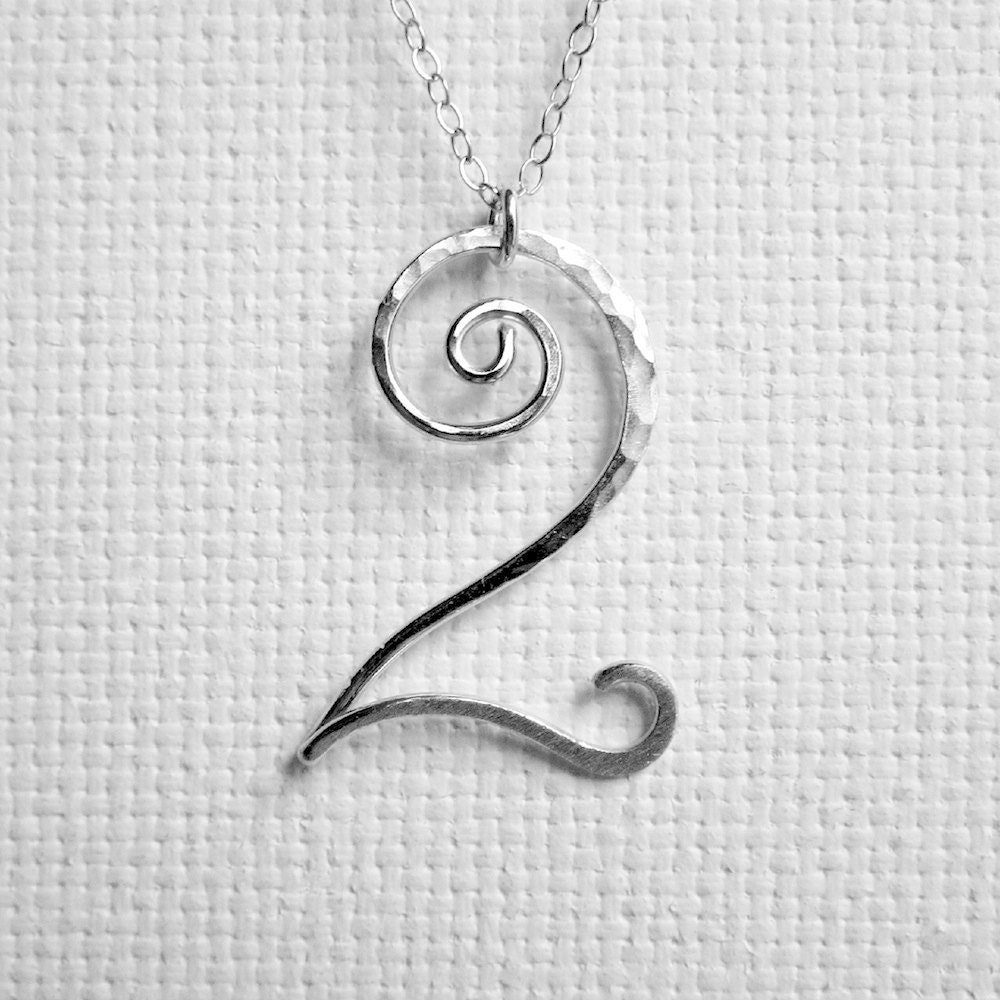 Number necklace number jewelry personalized number necklace zoom aloadofball Image collections