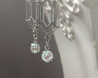 Great Gatsby Jewelry - 1920s Jewelry - Art Deco Earrings - Art Deco Jewelry - Downton Abbey Style - Jewelry - Womens Jewelry