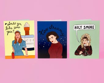 Twin Peaks Card Set