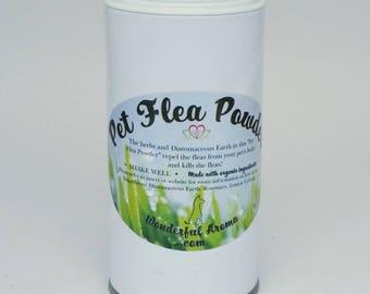 Pet Flea Powder                                                                                                                 100% Organic
