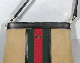 Gucci striped iconic bag vintage