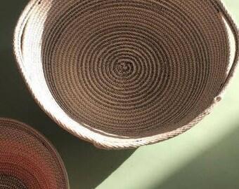 Large Netsle Bowl Rope Basket