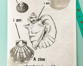 zine about depression I AM, I AM, I AM