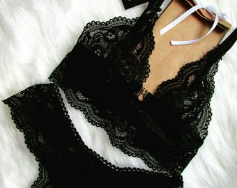 Black lingerie by LILT