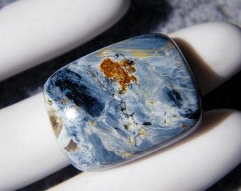 Pietersite Cabochon  - 24x18x6.5mm Chatoyant Gemstone - Rectangle Shape Namibian Pietersite Cabochon