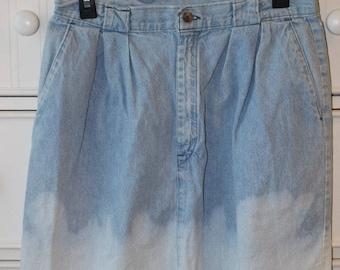 Vintage Duckhead Denim Skirt