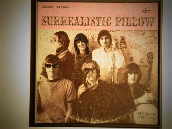 Glittered Record Album - Jefferson Airplane - Surrealistic Pillow