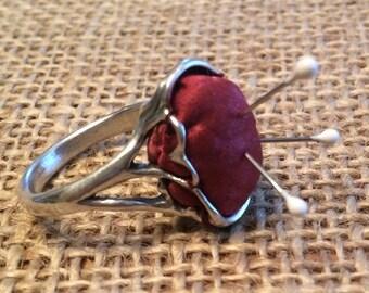 Pin Cushion Ring by Thimbles by TJ Lane
