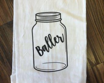 "Hand Towel ""Baller"""