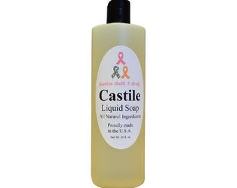 Peppermint Natural Castile Soap Free Shipping