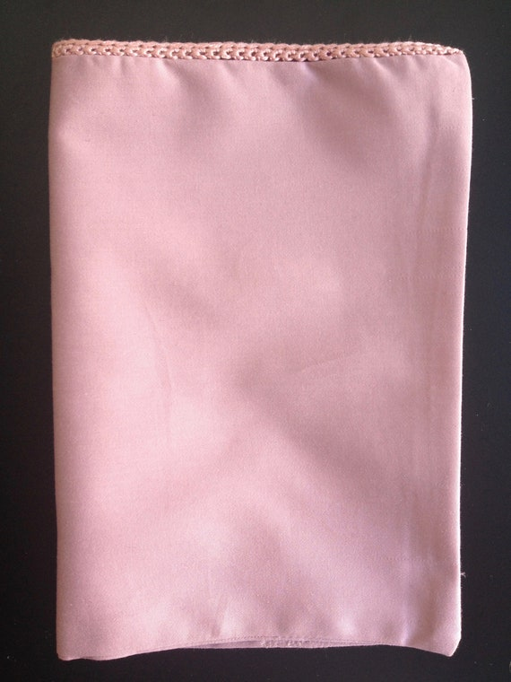 Insert cloth, cotton, old Rose, pink