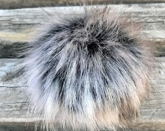 Sterling Fox Faux Fur Pom Pom