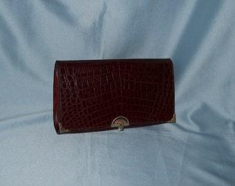 Genuine vintage bag! Reptile and genuine leather