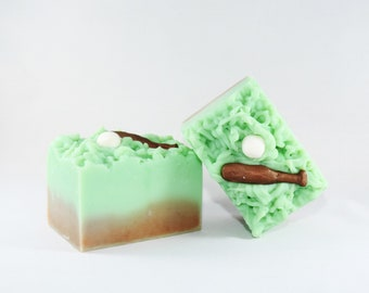 Outfield | Handcrafted Artisan Soap | Baseball | Spring Collection | Grass | XL