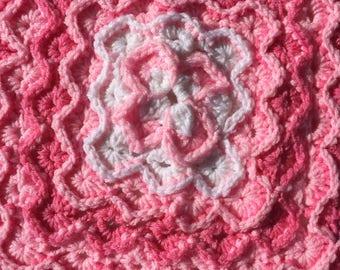 crochet baby blanket bavarian stitch