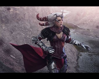 Flemeth Dragon Age Cosplay Costume Witch of the Wilds