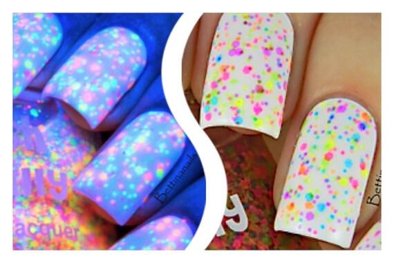FRECKLES neon: Custom-Blended NEON UV/Blacklight Glitter