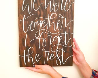 12x16 Wood Quote Sign