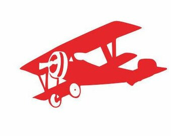 Airplane Decal:  Kids Decals, boys Room decals, Airplane Gifts, Gifts for Kids, Boys Birthday gifts, Airplane Decor, Boys Decals, Plane