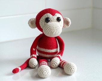 PATTERN: My Little Monkey - crochet pattern
